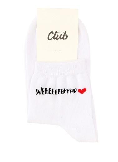 Beymen Club Çorap Beyaz